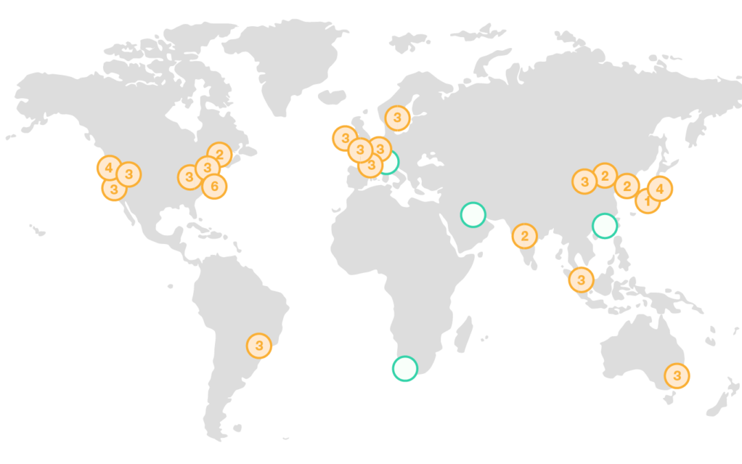 AMAZON WEB SERVICES GLOBAL INFRASTRUCTURE: Regions, Availability Zones, and Edge Locations