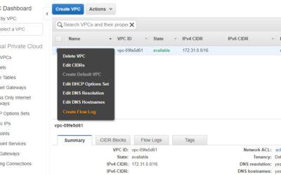 Amazon VPC Flow Logs Exam Tips