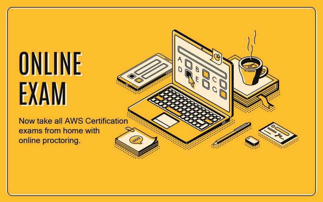 Amazon Announces All AWS Certification Exams Can Be Taken from Home