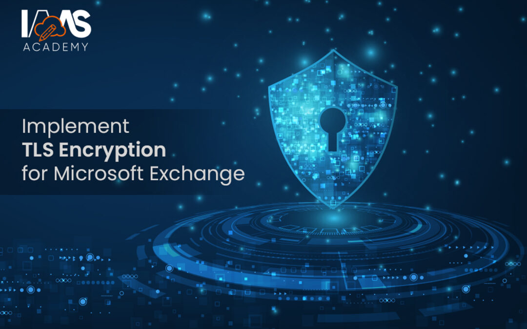 Setting up TLS to secure email for Microsoft Exchange